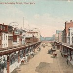 The Bowery in 1910