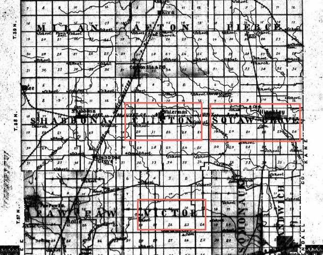 1905 Township Maps