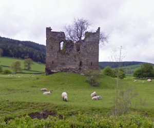 Hopton Castle: Birthplace of Nathaniel Littleton 1606